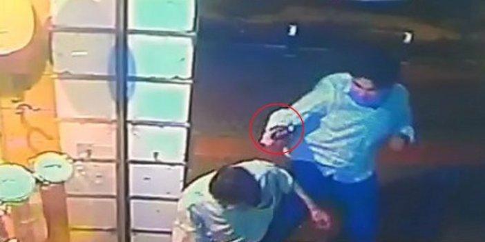 Cinayet anı saniye saniye kameralarda: 58 yaşındaki adamı silah kabzası ile öldürdü