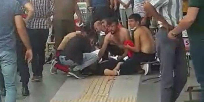 Adliye önünde silahlı saldırı: 1 ölü, 1 yaralı