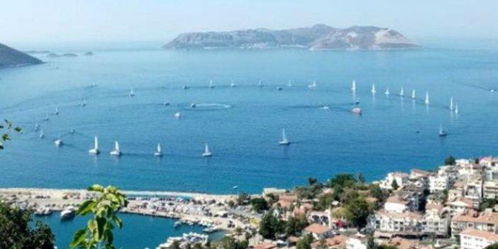 Yunanlılar iyice şaşırdı! Meis Adası'nda skandal tehdit! Fahrettin Altun paylaştı