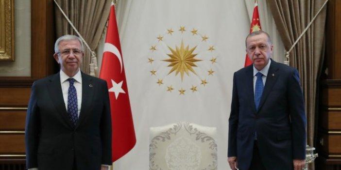 Tayyip Erdoğan Mansur Yavaş'ı ağırlamıştı! İşte kritik görüşmede konuşulanlar