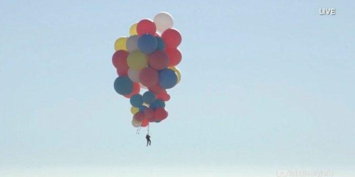 Helyum balonuyla Everest'i aştı, riske rağmen denemekten vazgeçmedi