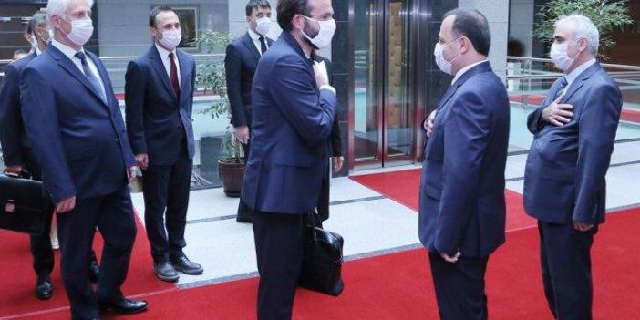 AYM Başkanı Arslan, AİHM Başkanı Spano'yu kabul etti