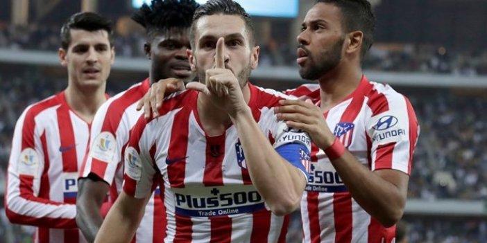 Atletico Madrid'de iki koronavirüs vakası!