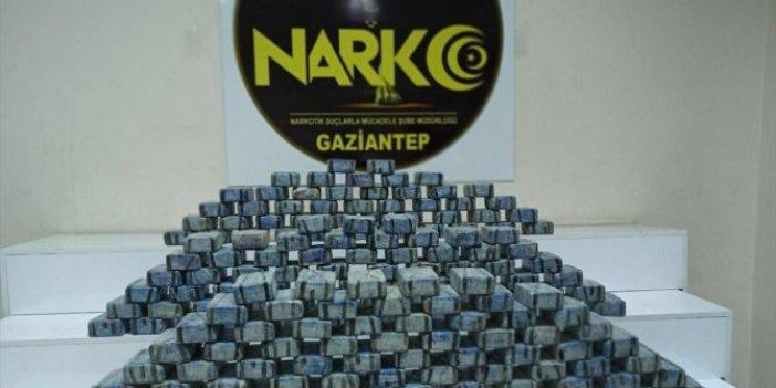 Gaziantep'te uyuşturucu operasyonu: 100 kilogram eroin ele geçirildi
