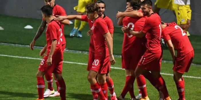Ümit Milli Takım, Andorra'yı tek golle geçti
