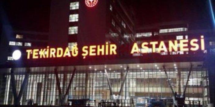 Şentop'tan esprili Tekirdağ Şehir Hastanesi paylaşımı