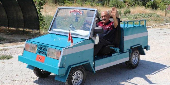Bıçakçı Hüseyin usta cabrio araç üretti! Fiyatını duyan şaşkına dönüyor