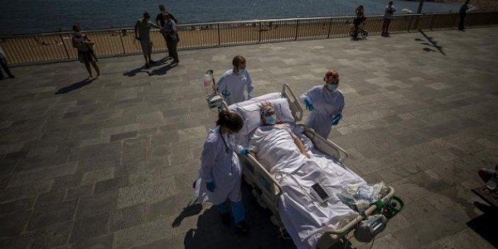 İspanya'da yoğun bakımdaki korona hastalarına plajda 'güneş banyosu' tedavisi
