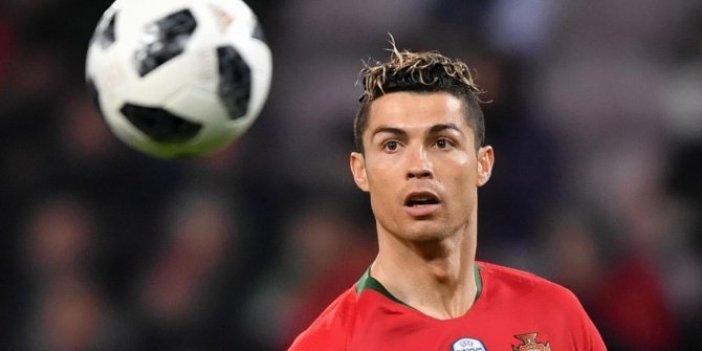 Portekiz'de Cristiano Ronaldo şoku