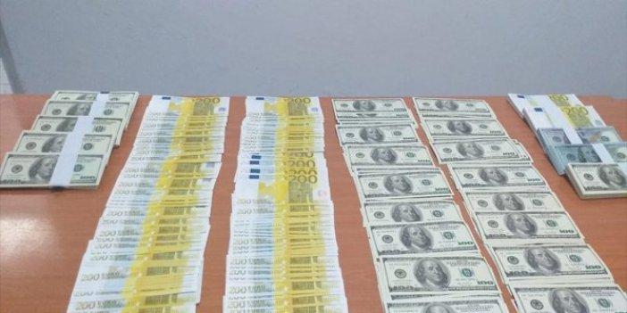 Piyasaya yüklü miktarda sahte para sürmeyi amaçlayan şahıs yakalandı
