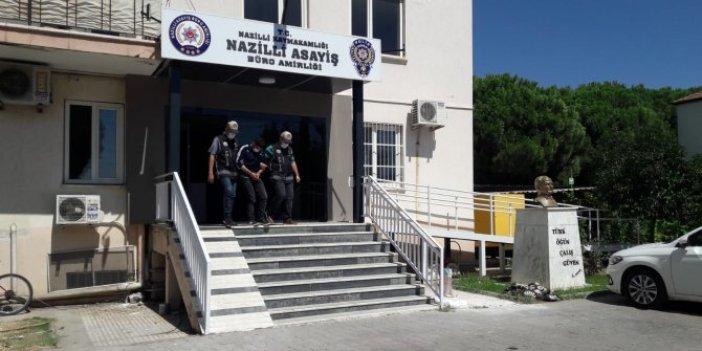 Aydın'da polisin takibiyle 2 hırsız yakalandı