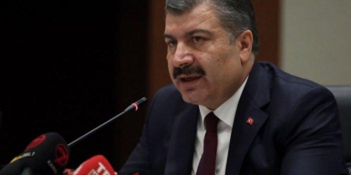Sağlık Bakanı Koca'dan para cezası açıklaması