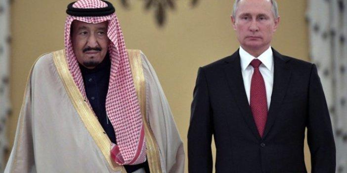 Putin ve Kral Selman petrol piyasalarını görüştü