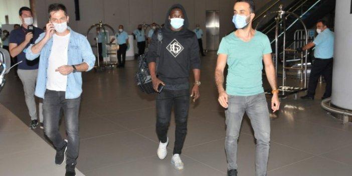 Etebo, Galatasaray için İstanbul'da
