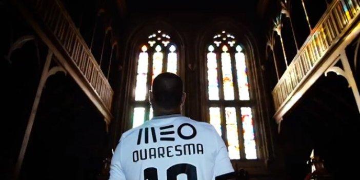 Quaresma gittiği takımda kral olarak karşılandı: Siyah-Beyaz formayı giyecek