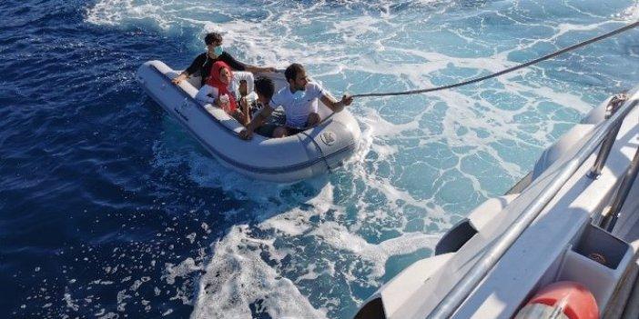 Yunanistan ölüme terk etti! Türk Sahil Güvenlik kurtardı