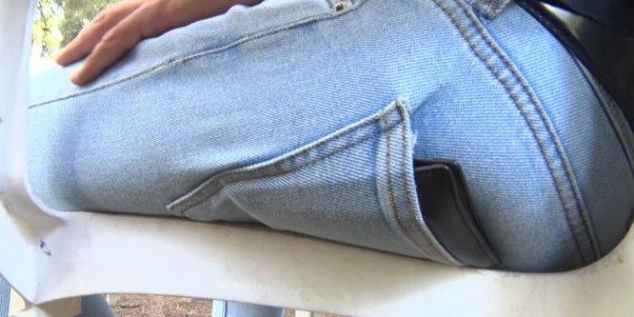 Arka cepte taşınan cüzdan sağlığınızdan edebilir