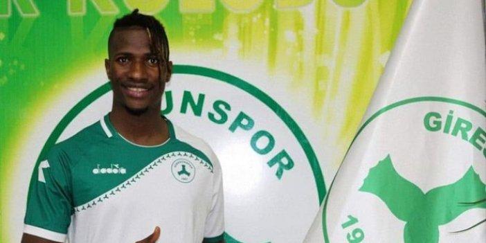 Giresunspor, İbrahima Balde ile iki yıllık sözleşme imzaladı