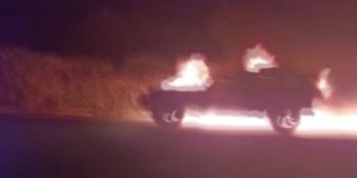Orman yangınını çıkaran bu sefer otomobil oldu! Muğla'da seyir halindeki otomobilde çıkan yangın ormana sıçradı