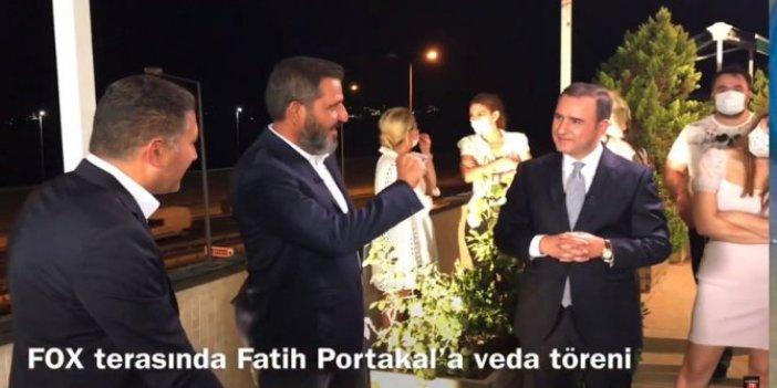 Fatih Portakal'a veda gecesi öyle bir soru sordular ki… Bu görüntüler ilk kez yayınlanıyor