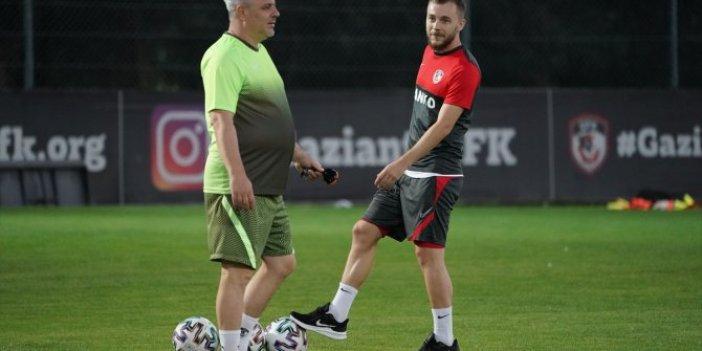 Gaziantepspor'da Galatasaray maçı hazırlıkları sürdü