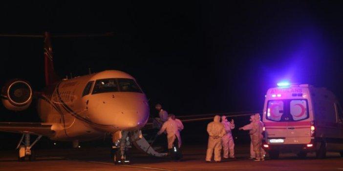 KKTC'deki korona hastalarının Türkiye'ye nakli başladı