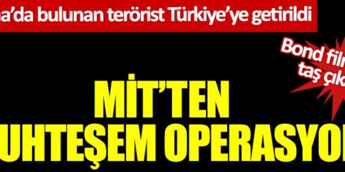 MİT'ten muhteşem operasyon! Ukrayna'da bulunan terörist İsa Özer Türkiye'ye getirildi