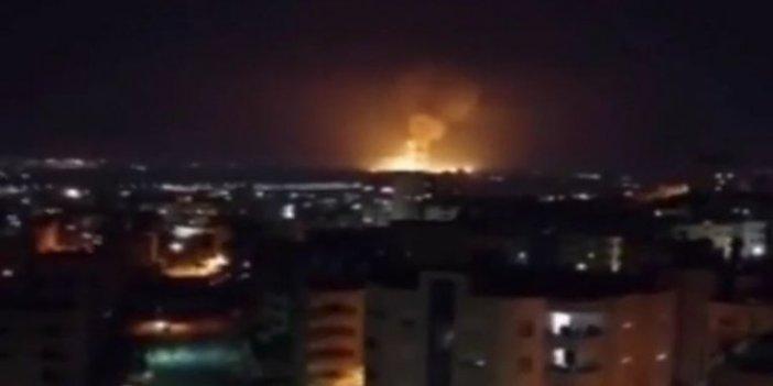 Ürdün'de büyük patlama! Askeri üste hareketlilik