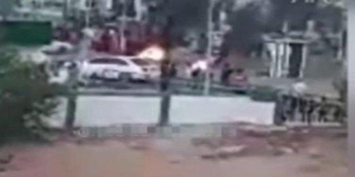 Libya'da halk yaşam koşullarını protesto etti! Sokaklar alev alev