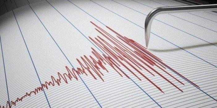 Çeşme açıklarında deprem!