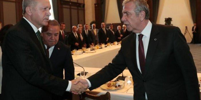 Mansur Yavaş Cumhurbaşkanı Erdoğan'dan söz aldı. Habertürk yazarı Muharrem Sarıkaya açıkladı