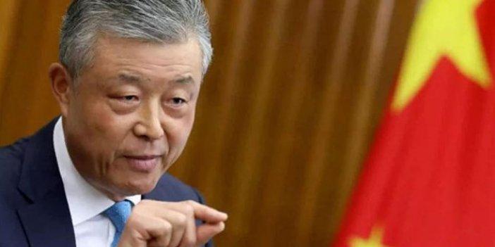 Çinli büyükelçi beğendi ortalık karıştı, kendi hükümetini mi eleştirdi?