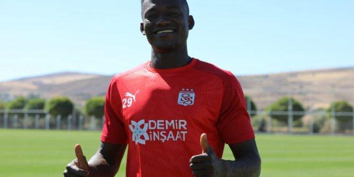 Sivassporlu Casimir Ninga'dan yeni sezon öncesi açıklamalar