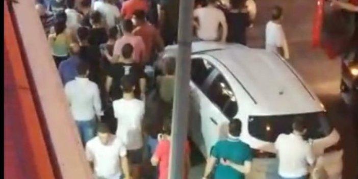 Bursa'da dönerci dükkanı alev alev yandı! Korona kol gezdi