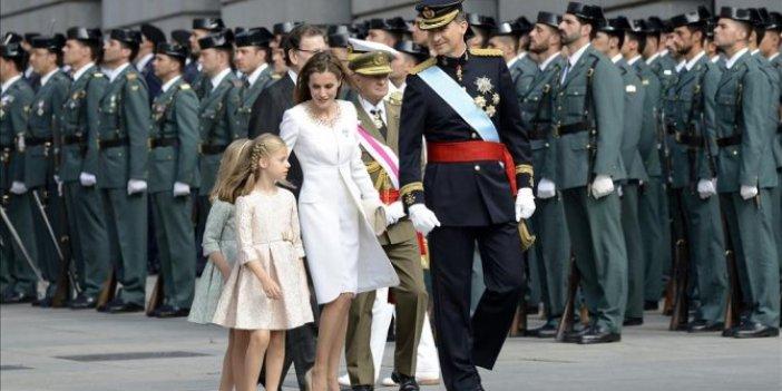 İspanya'da kraliyet ailesinde korona şoku