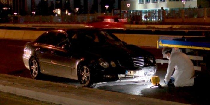 Ankara'da feci kaza! Karşıdan karşıya geçerken araçların altında kaldı
