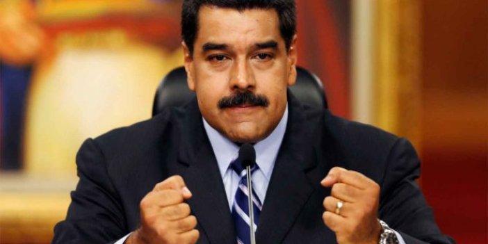 Maduro açıkladı! Casus yakalandı