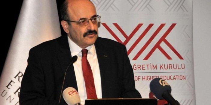 YÖK Başkanı Yekta Saraç'tan önemli açıklama: Eğitimin bütünüyle online olması…