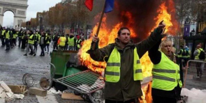 Fransa'da sarı yelek alarmı