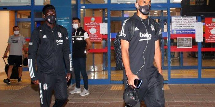 Beşiktaş, Trabzon'a ulaştı