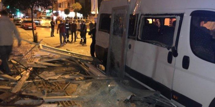 Yalova'da kapalı lokantadaki patlamada araç ve binalar hasar gördü