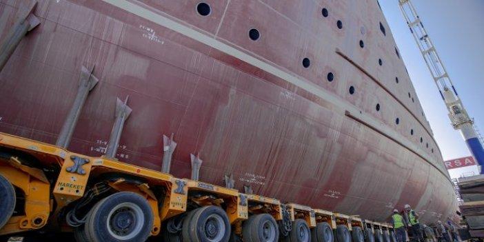 Gemiler 1600 lastiğin üzerinde suyla kucaklaştı