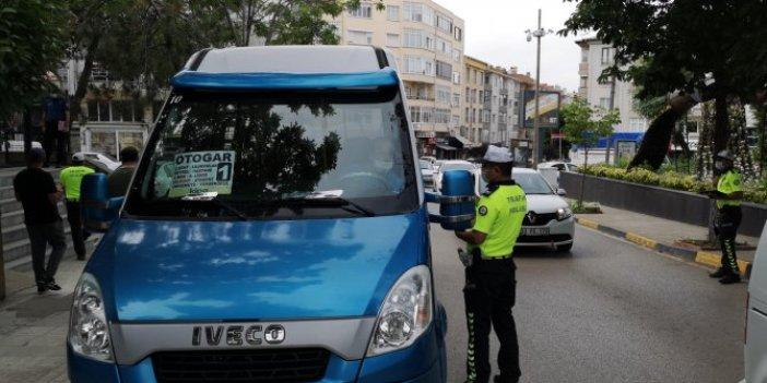 Edirne'de maske takmayanlara ceza