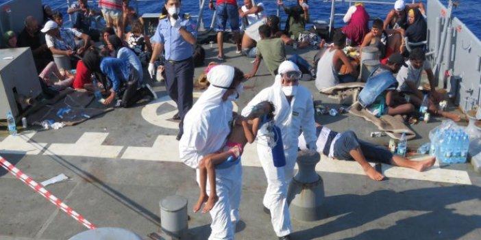 MSB açıkladı: Göçmenler TCG Bozcaada personelinin dikkati sayesinde kurtarıldı