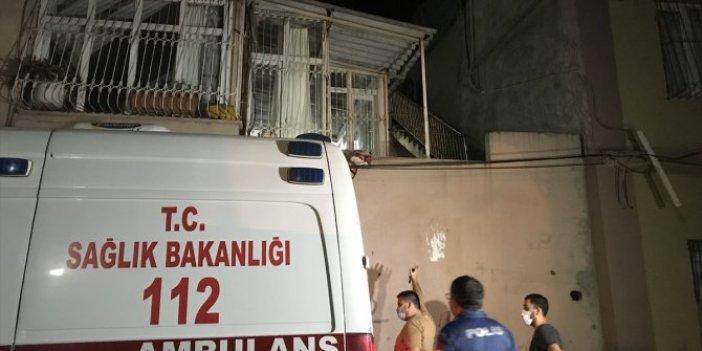 Adana'da polisten kaçmaya çalışırken damdan düştü