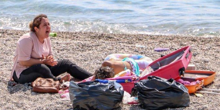 Plaja korona virüs baskını! 'Ölmek istemiyorum' feryadı yürek parçaladı
