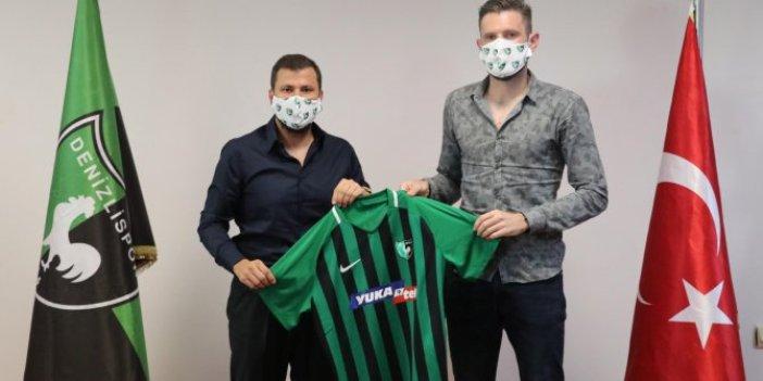 Denizlispor'da Fabiano Leismann imzayı attı