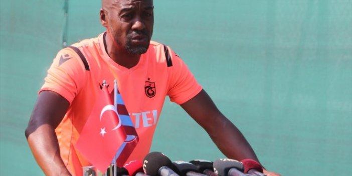 Trabzonspor Teknik Direktörü Newton'dan Sörloth açıklaması