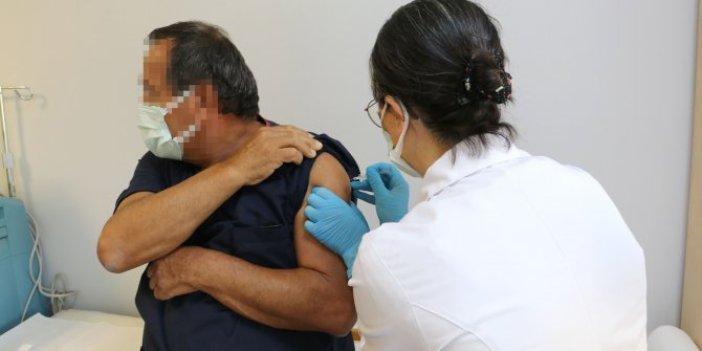 Türkiye'de korona salgını için tarihi gün. Ve ilk aşı yapıldı
