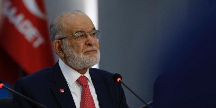Saadet Partisi lideri Temel Karamollaoğlu ittifak için iki partiye göz kırptı
